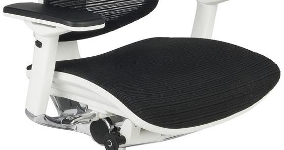 Nowoczesny fotel do komputera Ioo WS KMD31 - siedzisko siatkowe