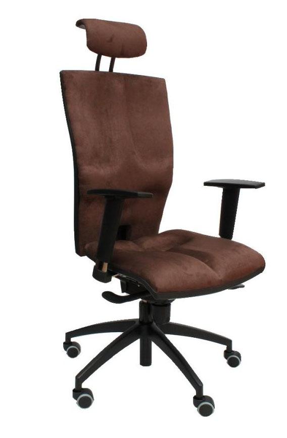 Wygodny fotel biurowy obrotowy Elegance kolor t08