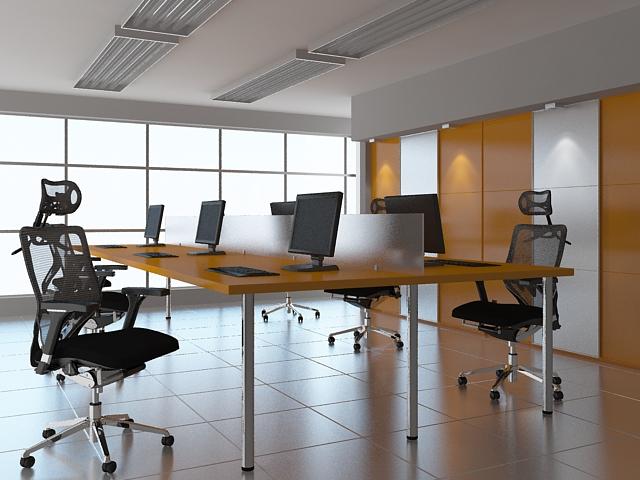 Fotele Grospol FUTURA 10 w biurze