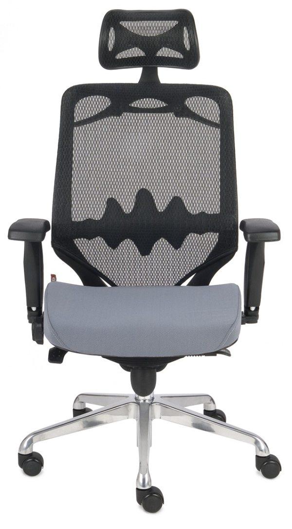 Fotel grospol futura 10 - siedzisko szare