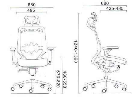 Fotele Grospol Futura 10 parametry techniczne