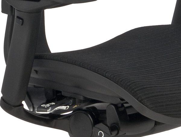 Nowoczesny fotel do komputera Ioo BS KMD31 - siedzisko siatkowe