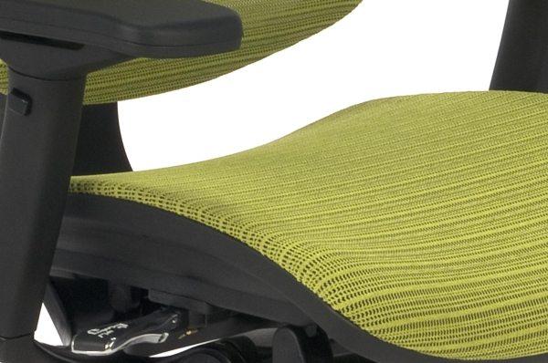 Nowoczesny fotel do komputera Ioo BS KMD34 - siedzisko siatkowe