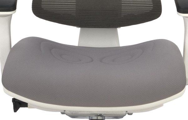 Nowoczesny fotel do komputera Ioo WT KMD30 - siedzisko tapicerowane