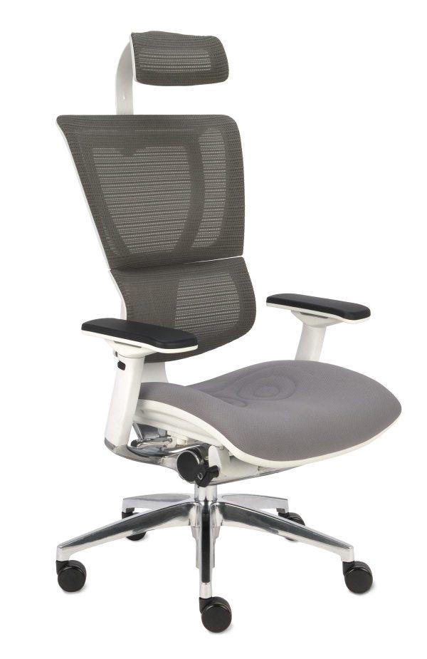 Nowoczesny fotel do komputera Ioo - widok z przodu
