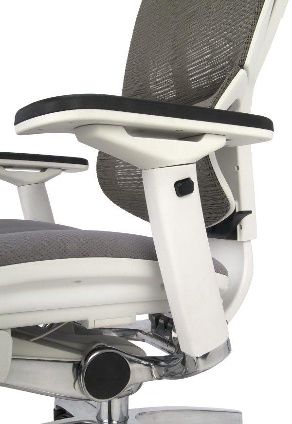 Nowoczesny fotel do komputera - siedzisko tapicerowane