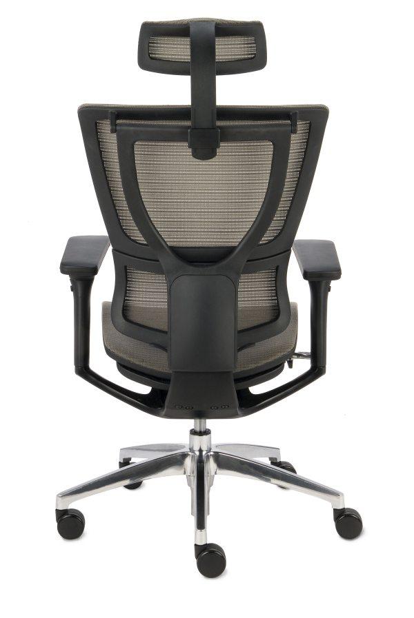 Fotel nowoczesny Ioo - widok z tyłu