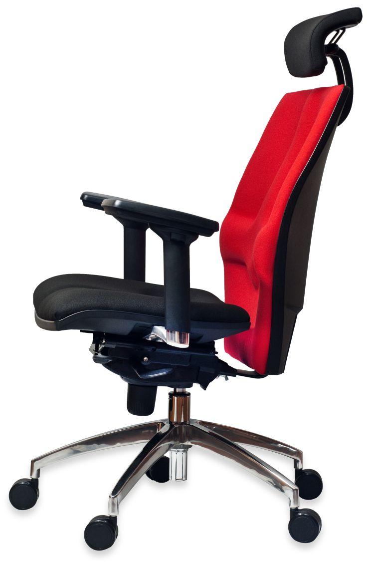 Fotel obrotowy Elegance Plus - widok z tyłu