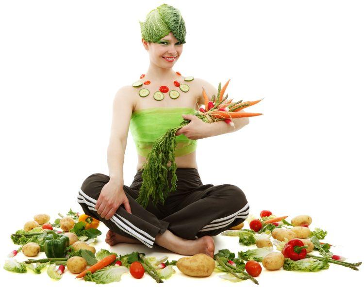 Optymalna waga - owoce i warzywa