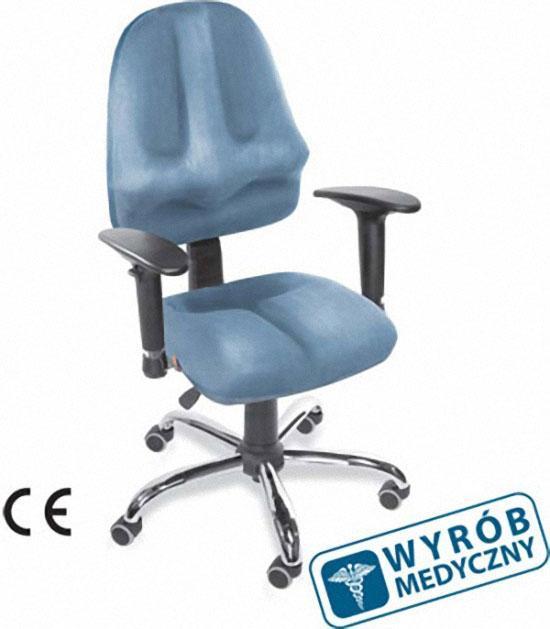 Ergonomiczne krzesło komputerowe - produkt medyczny