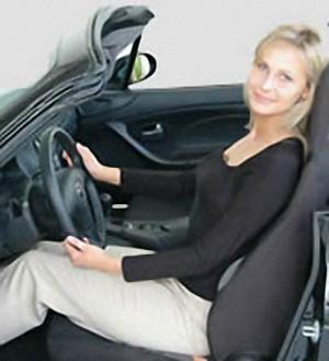 Nakładka na fotel samochodowy - wypróbuj sam