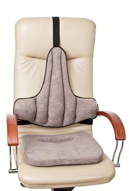 rehabilitacyjna nakladka na krzeslo lub fotel biurowy