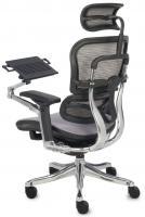 Ergonomiczny fotel biurowy ERGOHUMAN Plus z podstawk� pod laptop - UlgaDlaKregoslupa.pl